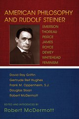 American Philosophy and Rudolf Steiner
